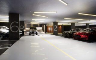 1181 Queen West - parking garage