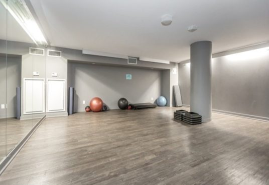 38 Joe Shuster Way - fitness area