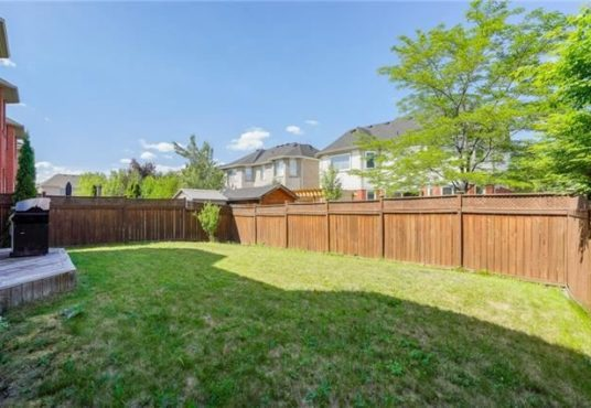 729 Turrell Cres - Backyard